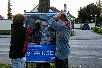 Adbusting zur Bundestagswahl