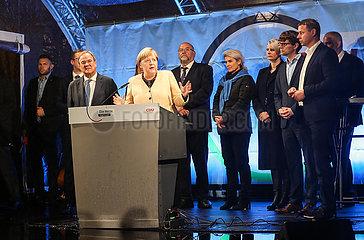 Deutschland-Stralsund-CDU-Wahl-Rallye