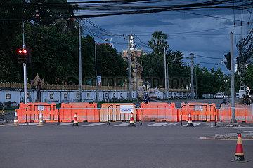 Laos-Vientiane-Covid-19-Lockdown