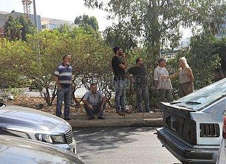 Libanon-Beirut-Energie-Kraftstoff-Preiswanderungen