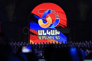 Armenien-Yerevan-Independence-Tag