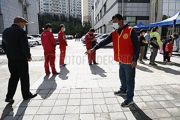 China-Heilongjiang-Harbin-Covid-19-Tests (CN)