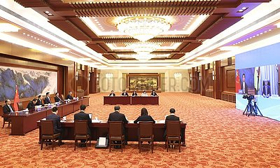 China-Beijing-Li Zhanshu-Brunei-Talks (CN)