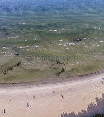 Strand von Pirita (Pirita rand)  Luftaufnahme  Tallinn  Estland