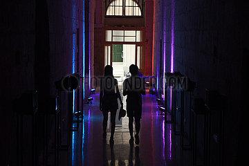 Malta-Valletta-China-Installation Kunstausstellung