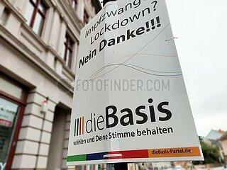 Wahlplakat fuer dieBasis