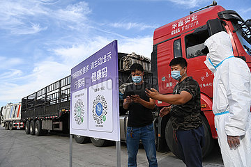 China-Heilongjiang-Harbin-Covid-19-Prävention und -Kontrolle (CN)
