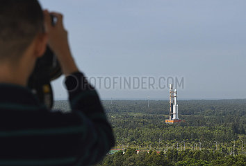 China-Hainan-Wenchang-Augen für Raketen (CN)