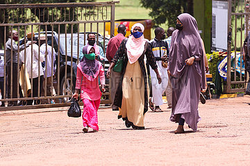 Uganda-Kampala-Covid-19-Moschee-Wiedereröffnung Uganda-Kampala-Covid-19-Moschee-Wiedereröffnung