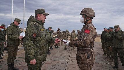 RUSSIA-ORENBURG-PEACE MISSION 2021-SCO-CLOSING