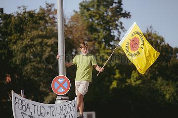 Fridays for Future Großstreik am 24.09.21 in München