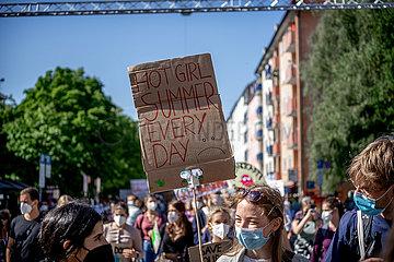 29.000 bei Globalem Klimastreik in München