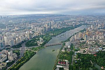 China-Guangxi-Nanning-See-Landschaft (CN)