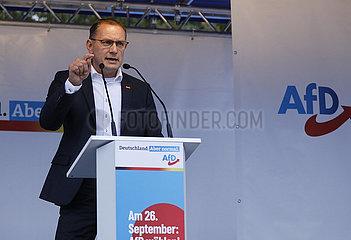 Wahlkampfabschluss der AfD  Schloss Charlottenburg  24. September 2021