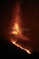 Spanien-La Palma-Vulkanausbruch