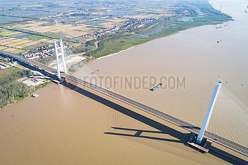 China-Hubei-Yangtze River-Bridges-Eröffnung (CN) China-Hubei-Yangtze-River-Bridges-Öffnung (CN)