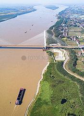 CHINA-HUBEI-YANGTZE RIVER-BRIDGES-OPENING (CN)