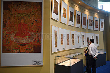 CHINA-DUNHUANG-HISTORICAL RELICS-DUPLICATIONS-EXHIBITION (CN)