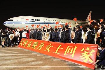 CHINA-SHENZHEN-MENG WANZHOU-ARRIVAL (CN)