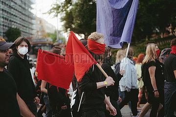 Bayernweite Antifaschistische Demo am 25.09.21 in München
