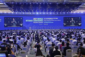 CHINA-ZHEJIANG-2021 WORLD INTERNET CONFERENCE WUZHEN SUMMIT-OPENING (CN)