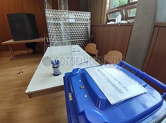 Wahllokal am 26.09.2021
