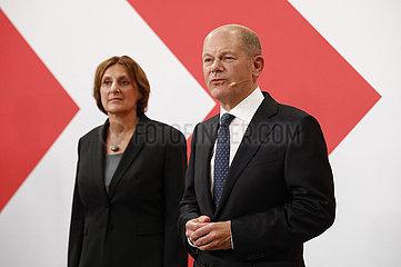 SPD Wahlabend im Willy-Brandt-Haus  26. September 2021