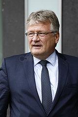 Bundespressekonferenz zum Thema: AfD - Zu den Bundestags- und Landtagswahlen