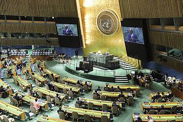 UN-76TH GENERAL ASSEMBLY-GENERAL DEBATE-CLOSING