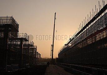 CHINA-HEBEI-XIONGAN-ELECTRICITY SUBSTATION-CONSTRUCTION (CN)