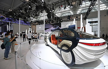 CHINA-TIANJIN-MOTOR SHOW-NEW ENERGY VEHICLE (CN)