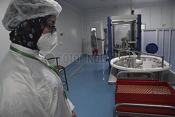 Algeria-Constantin-Sinovac Covid-19-Impfstoffe-Produktion-Einweihung