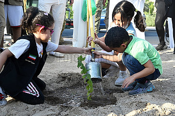 Kuwait-Capital Governorat-Tree-Pflanzkampagne