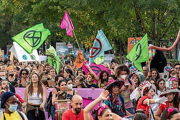COP 26: Klimademo in Mailand