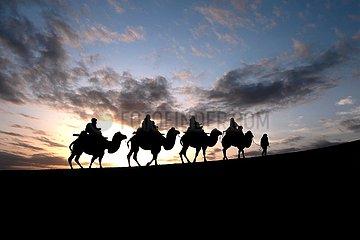 # China-Gansu-Dunhuang-Holiday-Tourismus (CN)
