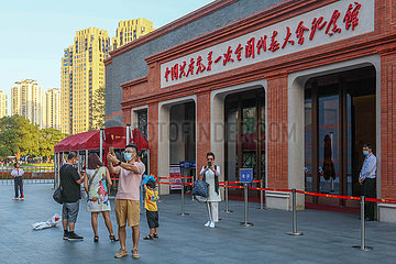 China-Shanghai-Red Tourism-Tourist Route-Sehenswürdigkeiten (CN)