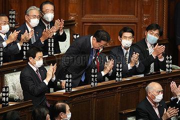 Japan-Tokyo-Fumio Kishida-New PM