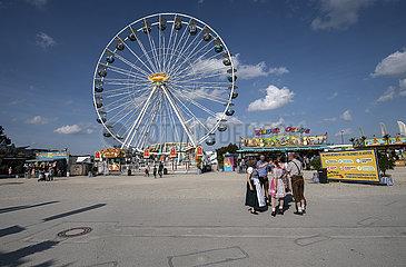 Riesenrad  Erdinger Volksfest  Oktober 2021