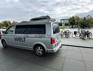 UEbertragungswagen von Welt TV