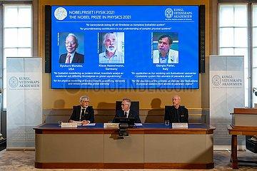 Schweden-Stockholm-Nobel-Preis-Physik
