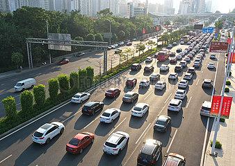 China-Guangxi-Travel Rush (CN)