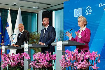 Slowenien-Kranj-EU-Western-Balkan-Gipfel