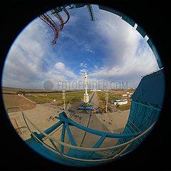 (Eyungsbewohner) China-Shenzhou-13-13-Start-Vorbereitung (CN)