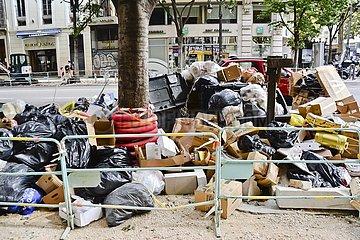 Müllstreik in Marseille