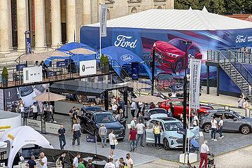 IAA Mobility  Messestaende GWM und Ford  Koenisplatz  Muenchen  10.09.2021