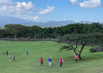 Südkorea-Jeju-Outdoor-Aktivitäten