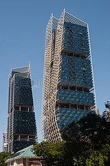 Singapur  Republik Singapur  South Beach Tower Gewerbe- und Wohnhochhaus-Komplex
