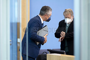 Prof. Lothar H. Wieler  Prof. Dr. Thomas Mertens - Coronavirus
