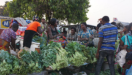 Sambia-Lusaka-Farmer-Wochentagsmarkt
