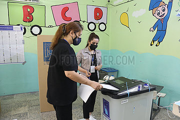 Irak-Bagdad-Parlamentswahlen-Wahl